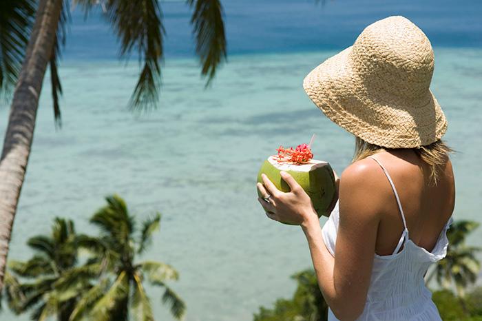 Kokosnusssaft zur Gewichtsreduktion